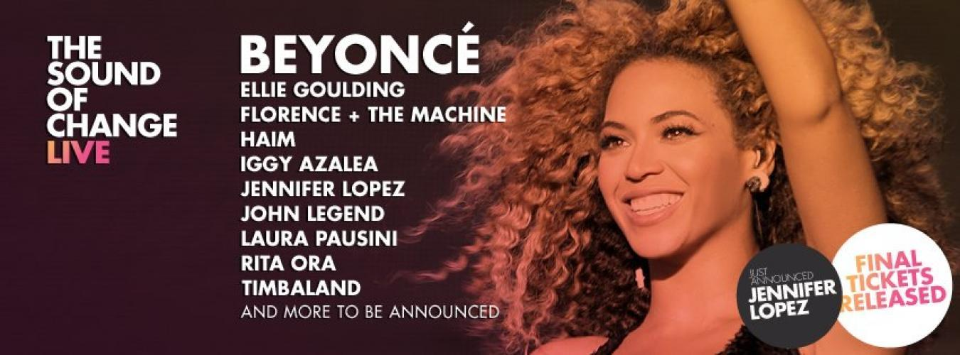 Beyonce and Friends Live at Twickenham next episode air date poster