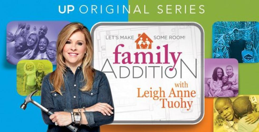 Family Addition with Leigh Anne Tuohy next episode air date poster