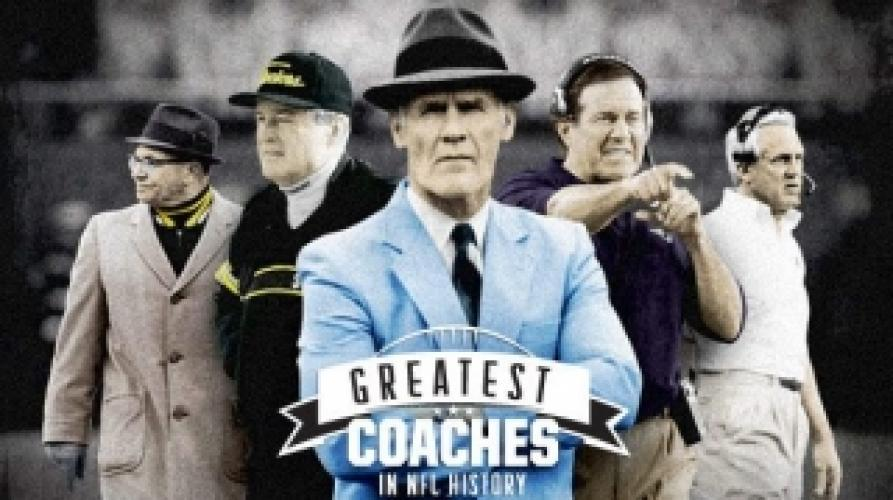 Greatest Coaches in NFL History next episode air date poster