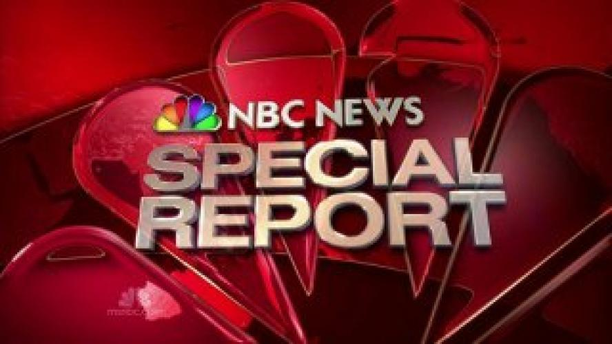 NBC News Special next episode air date poster