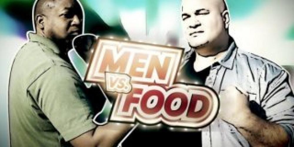 Men vs. Food next episode air date poster
