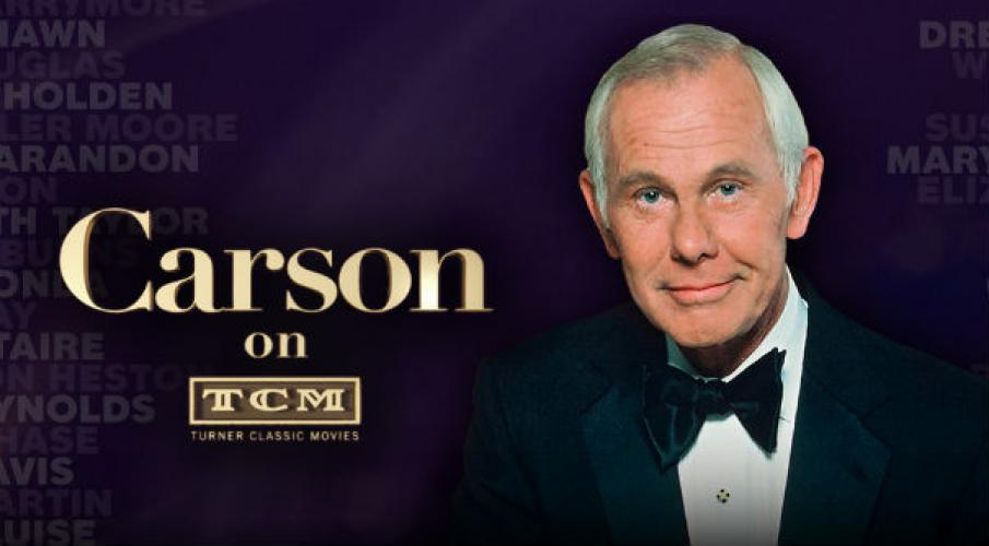 Carson on TCM next episode air date poster