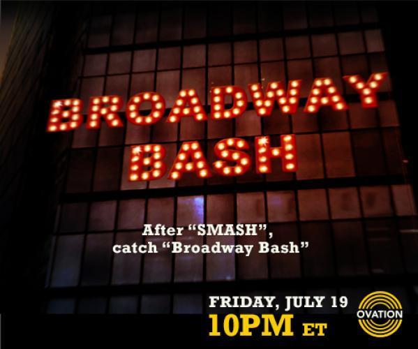 Broadway Bash next episode air date poster