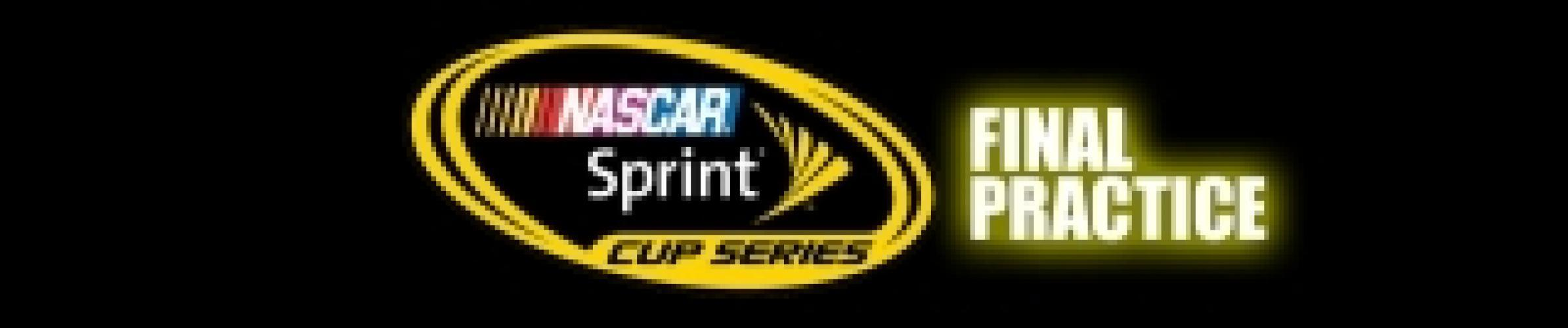 NASCAR Sprint Cup Series Final Practice next episode air date poster