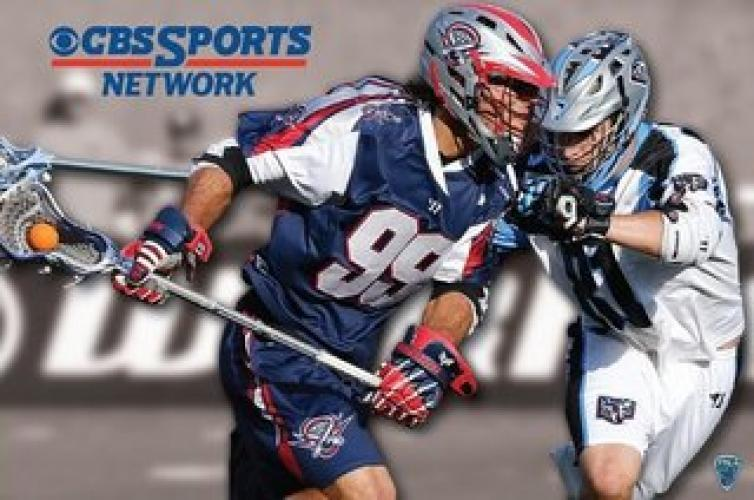 MLL Lacrosse on CBS next episode air date poster