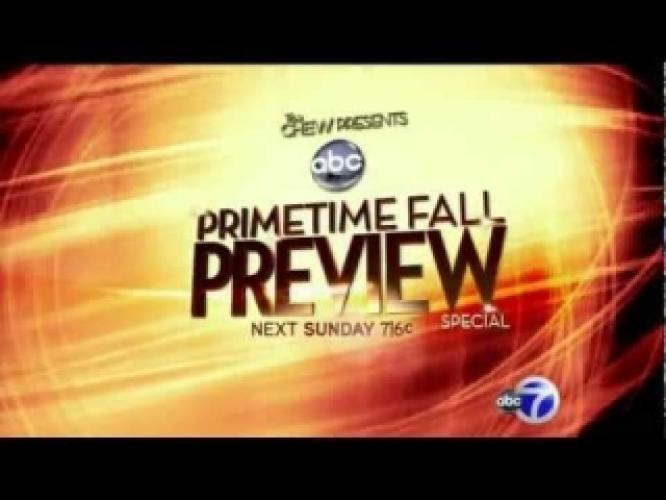 ABC Fall Preview Special next episode air date poster