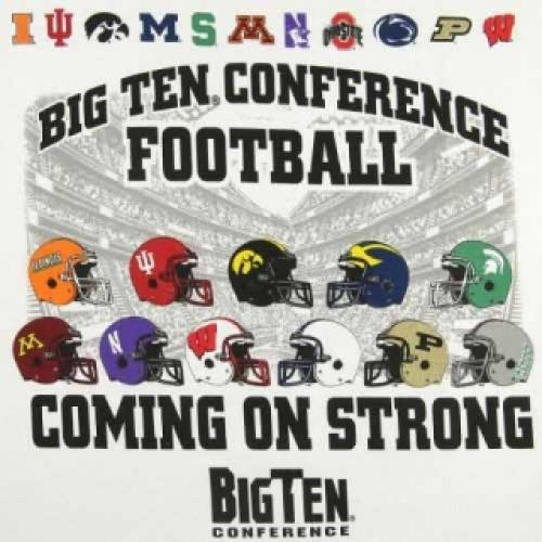 College Football on Big Ten Network next episode air date poster