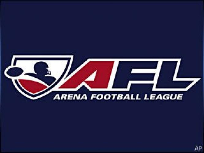 Arena Football League on CBS next episode air date poster