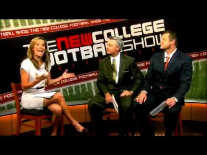 The New College Football Show next episode air date poster