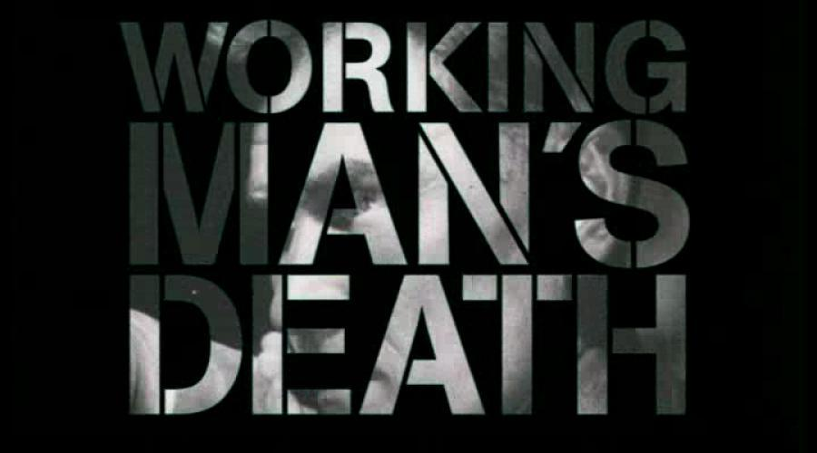 Working Man's Death next episode air date poster