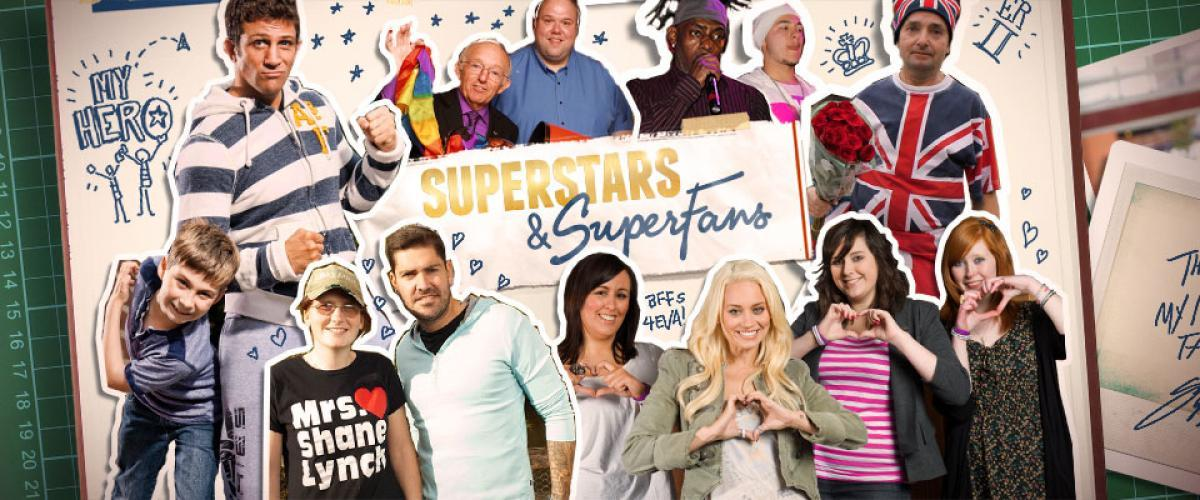 Superstars and Superfans next episode air date poster