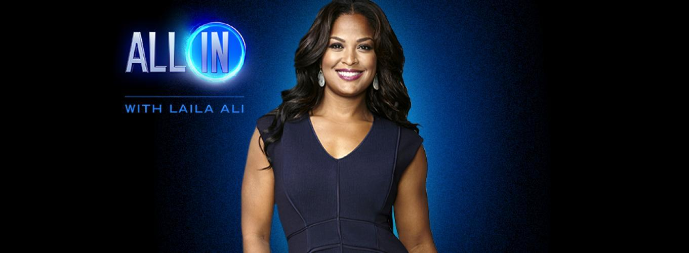 All In With Laila Ali next episode air date poster