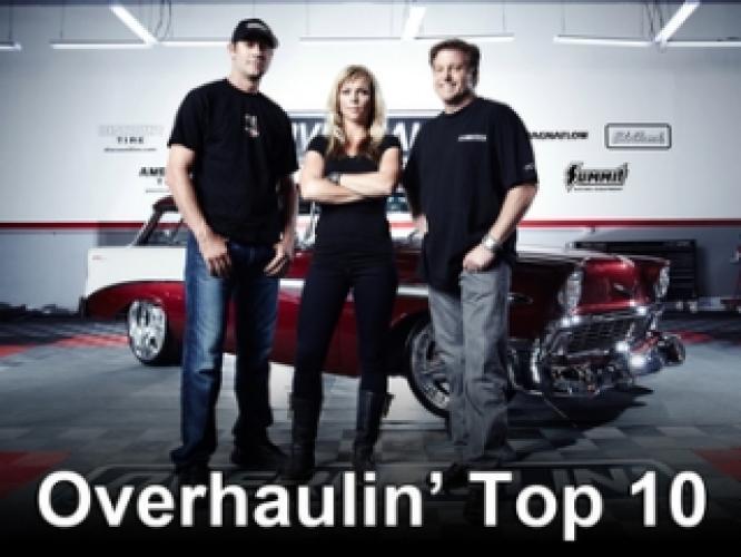 Overhaulin' Top 10 next episode air date poster