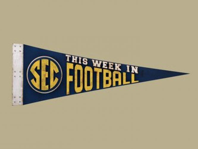 This Week in SEC Football next episode air date poster