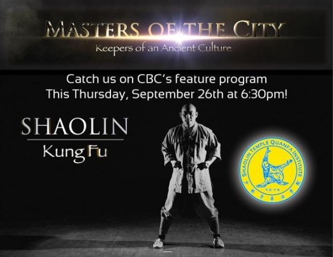 Masters in the City: Keepers of an Ancient Culture next episode air date poster
