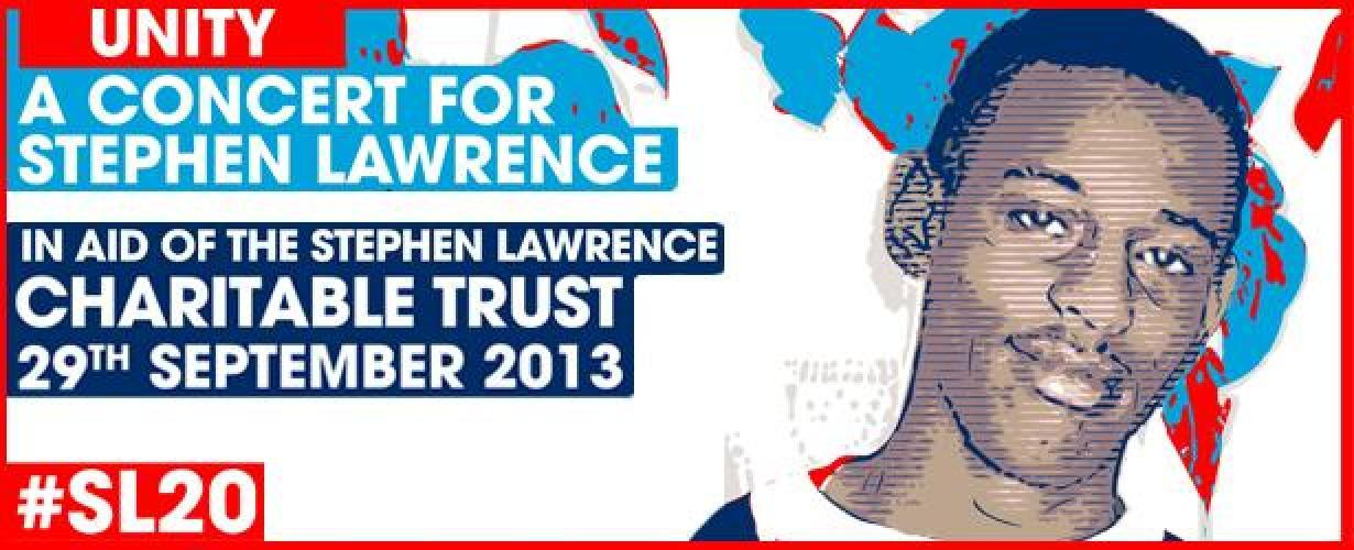 Stephen Lawrence Unity Concert next episode air date poster