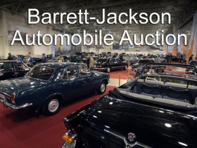 Barrett-Jackson Automobile Auction next episode air date poster