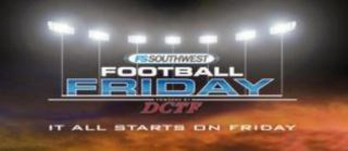 Football Friday Live next episode air date poster