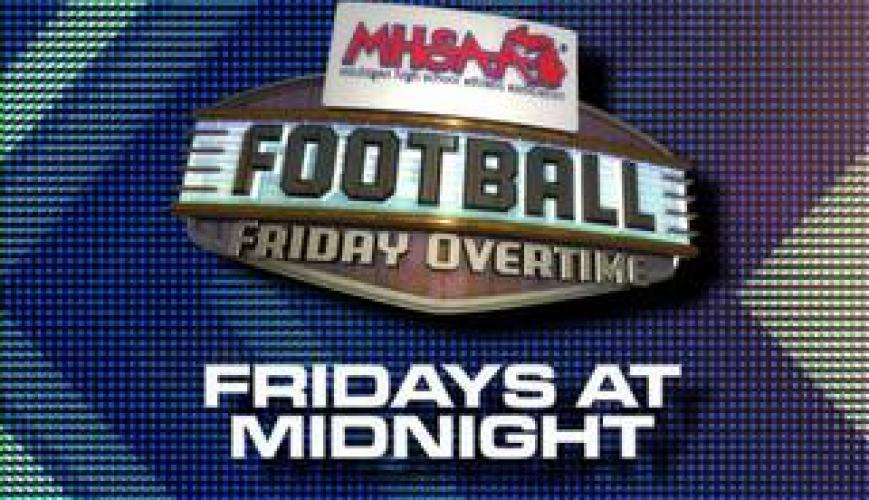 Football Friday Overtime next episode air date poster