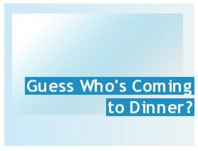 Guess Who's Coming to Dinner? (UK) next episode air date poster