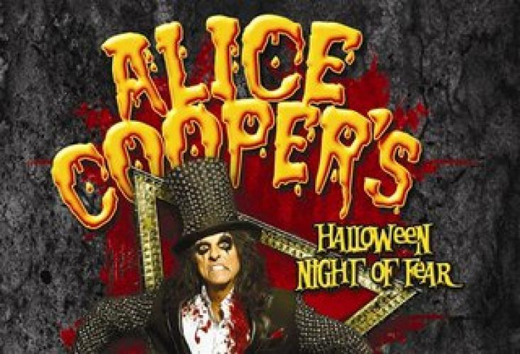 Alice Cooper's Halloween Night of Fear next episode air date poster