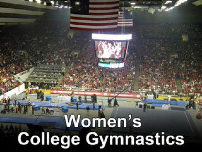 Women's College Gymnastics on Pac-12 Network next episode air date poster