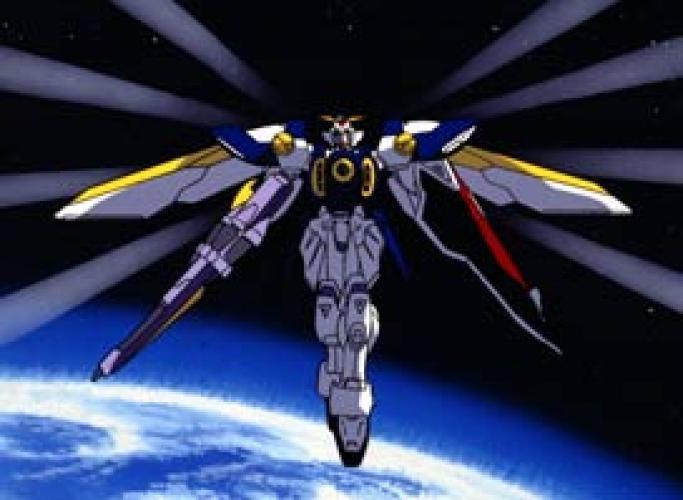 Gundam Wing next episode air date poster