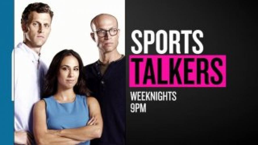 Sports Talkers next episode air date poster
