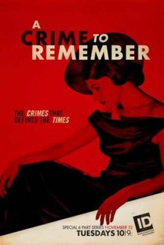A Crime to Remember next episode air date poster