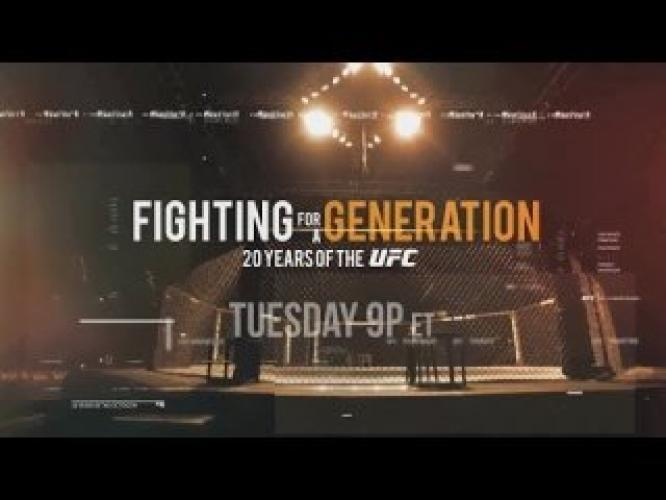 Fighting for a Generation next episode air date poster