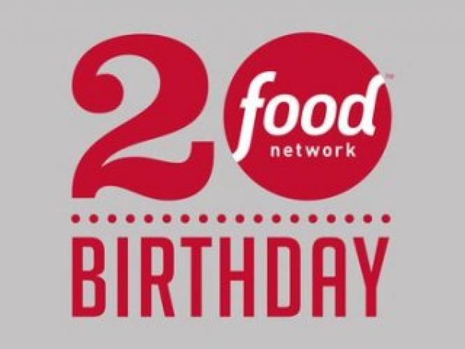 Food Network's 20th Birthday Party next episode air date poster