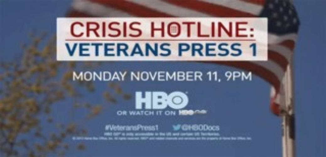 Crisis Hotline: Veterans Press 1 next episode air date poster
