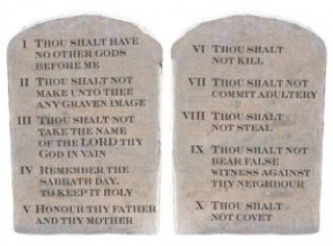 Ten Commandments (2014) next episode air date poster