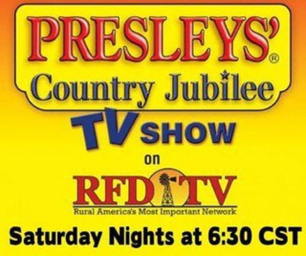 Presleys' Country Jubilee next episode air date poster