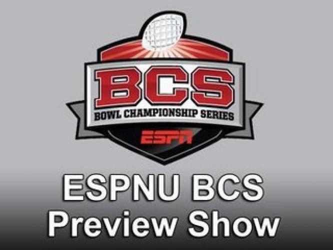 ESPNU BCS Preview Show next episode air date poster