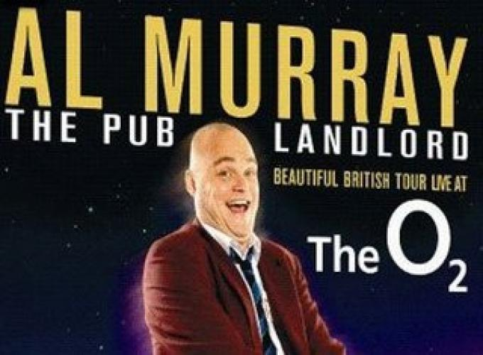 Al Murray Live at the O2 next episode air date poster