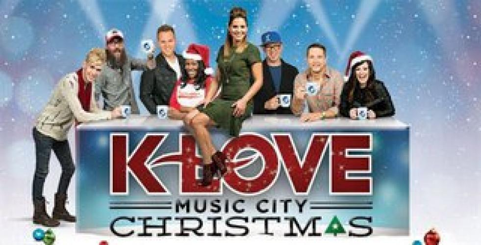 KLOVE Music City Christmas next episode air date poster