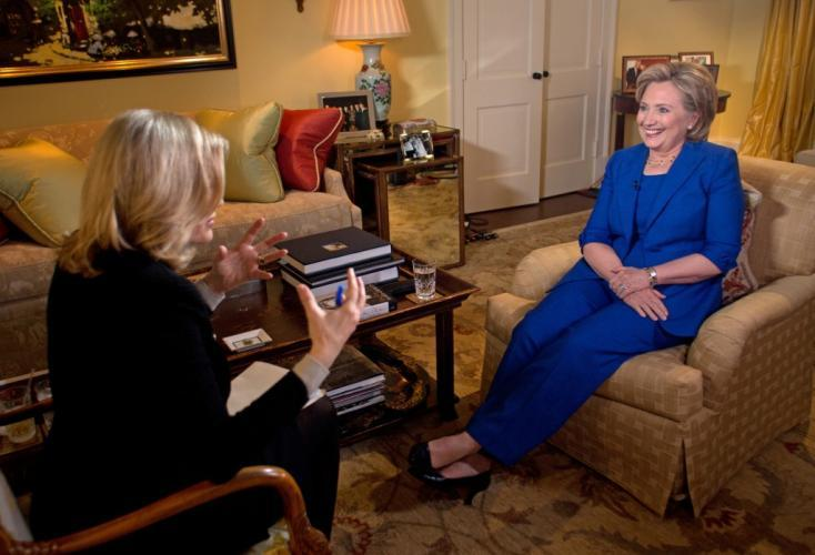 HILLARY CLINTON: Public and Private – One on One with Diane Sawyer next episode air date poster
