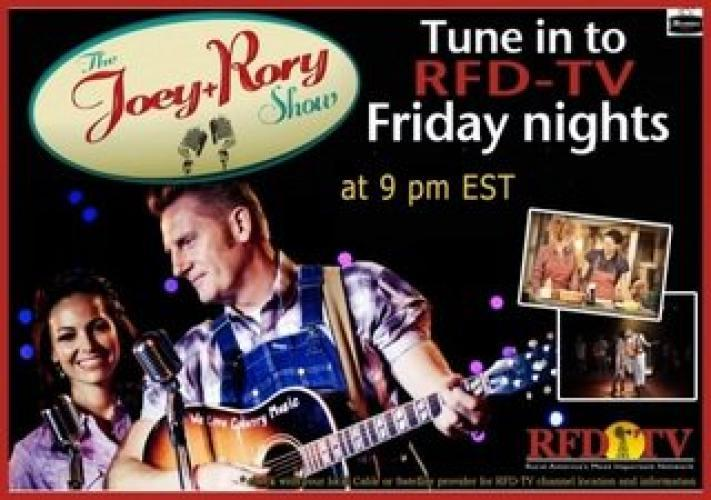 The Joey and Rory Show next episode air date poster