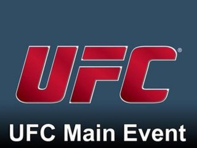UFC Main Event next episode air date poster