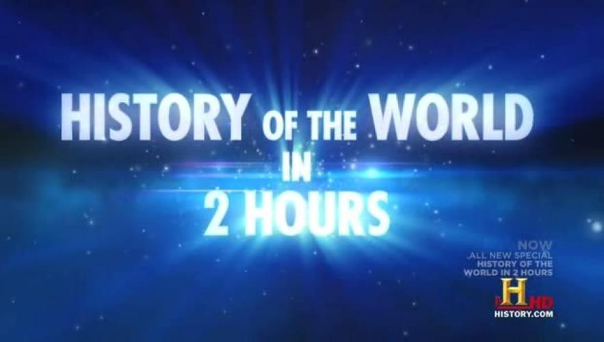 History of the World in 2 Hours next episode air date poster