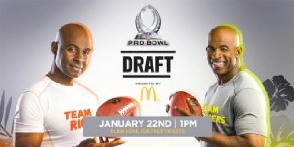 Pro Bowl Draft next episode air date poster