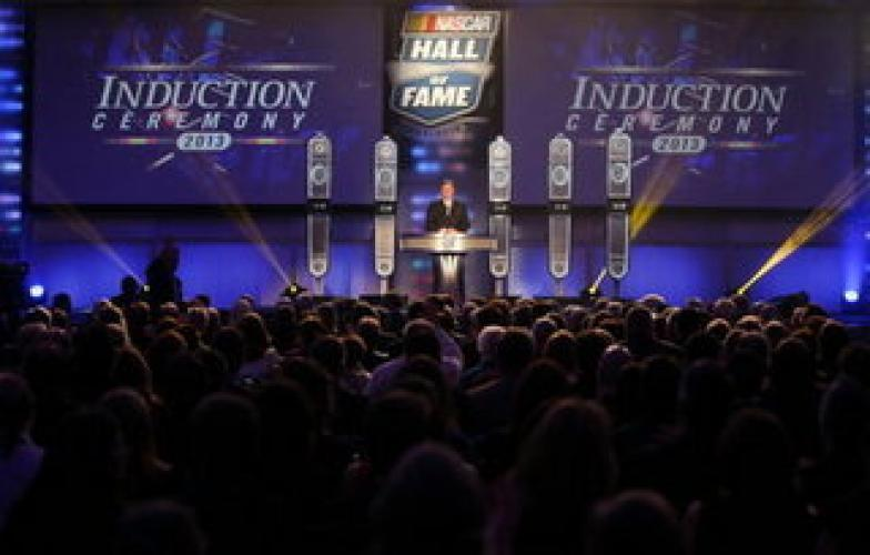 NASCAR Hall of Fame Induction Ceremony next episode air date poster