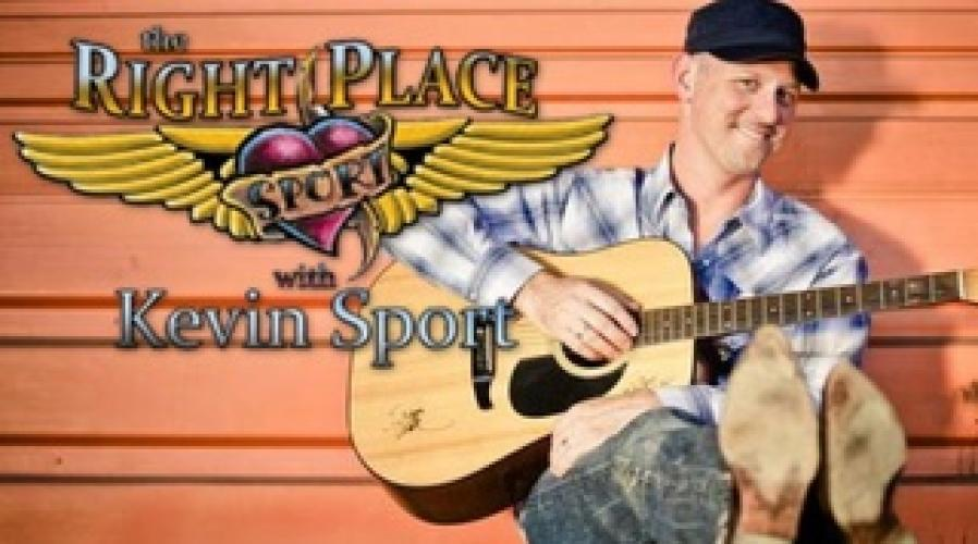 The Right Place With Kevin Sport next episode air date poster
