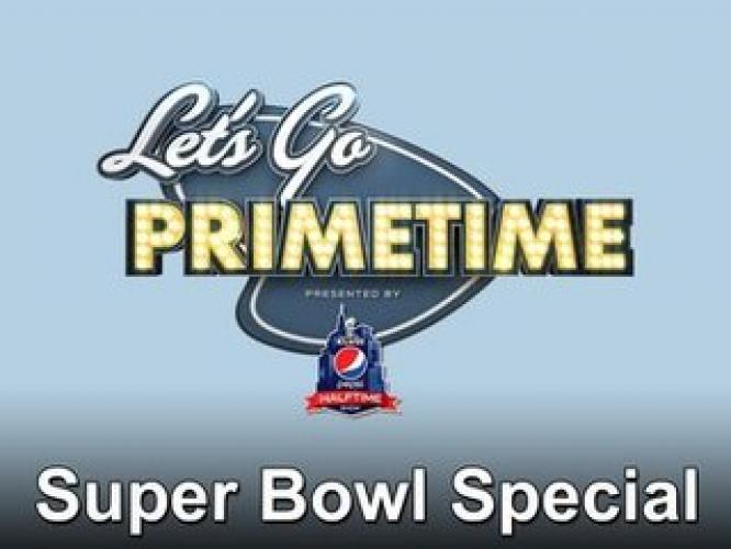 Let's Go Primetime Super Bowl Special next episode air date poster
