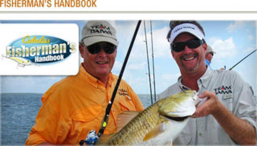 Cabela's Fisherman's Handbook next episode air date poster