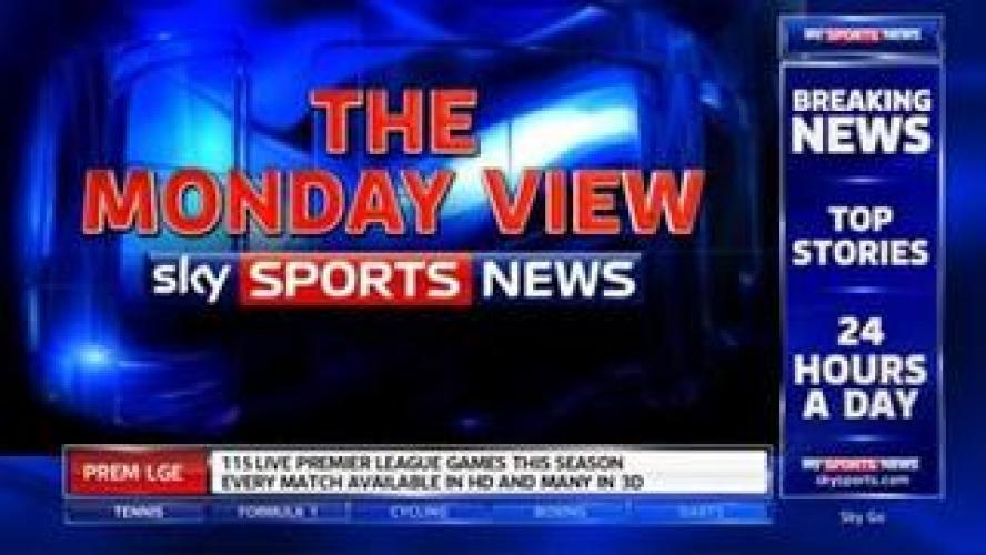 The Monday View next episode air date poster