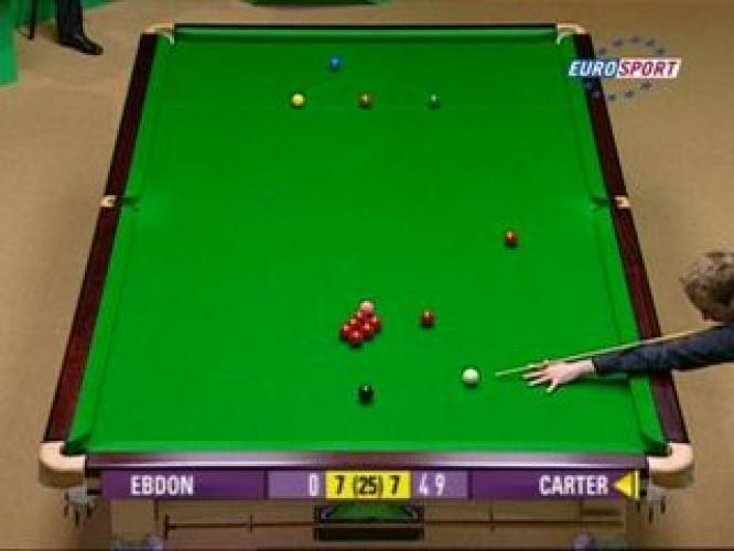 Snooker on British Eurosport next episode air date poster