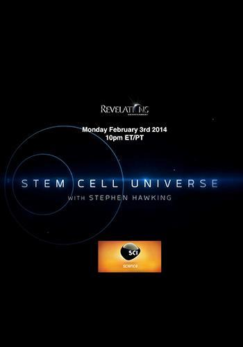 Stem Cell Universe With Stephen Hawking next episode air date poster