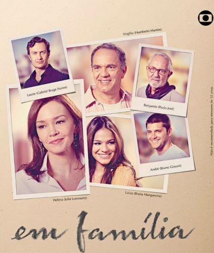 Em Família next episode air date poster